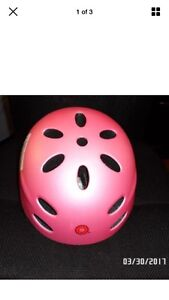 A Razor V-17 Child Multi-sport Helmet, Pink