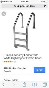 Pool ladders for sale