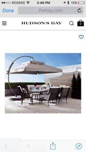 Free standing style large patio Umbrella