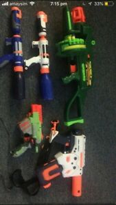 Nerf guns ( need to get rid of)