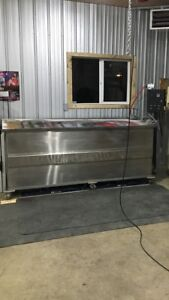 Hydrographic Dip Tank, films and paint