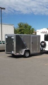5x10 enclosed trailer