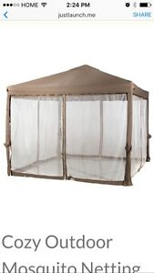 Replacement netting for a 12x10 Gazebo