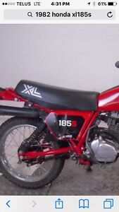 Wanted 81/82 Honda XL185S or xl125s right side cover