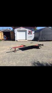 Brand new small utility trailer