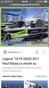 Chaloupe de pêche Légend 16pied fx 20011