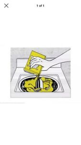 Roy Lichtenstein art poster print washing machine