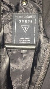 Guess over coat.  Zippered inner liner size small