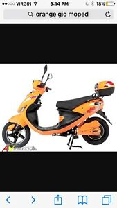 2011 GIO 500 watt moped/scooter No License required to drive