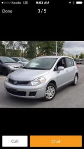 $4999 2011 NISSAN VERSA HB LOW KMS BEST DEAL IN CANADA