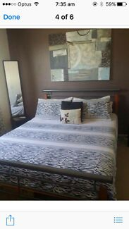 Queen bed and mattress free