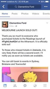 Clementine Ford Reading for Adelaide Brooklyn Park West Torrens Area Preview