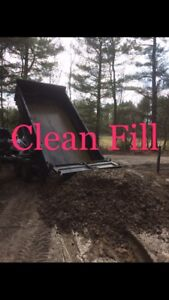 Clean Fill With Small Rocks and dirt