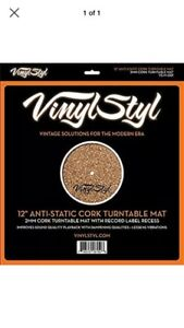 Vinyl Styl Cork Turntable Mat