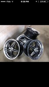 "KONIG SIDEWAYS RIMS 18"" 5x100"