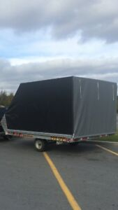 Double Enclosed Trailer- Located in Goose Bay