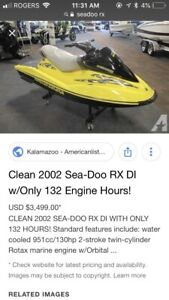Looking for Seadoo or Honda
