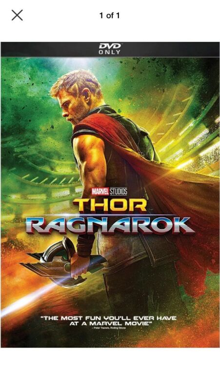Thor: Ragnarok (dvd, 2018) -chris Hemsworth- New & Sealed Free Shipping!