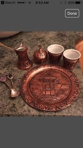 Hand crafted Copper coffee pot