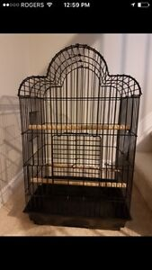 Bird cage like new with lots of extras