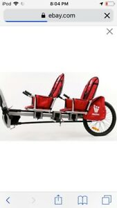 WEEHOO IGO TWO SEAT TRAILER