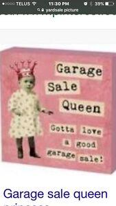 Garage Sale. Rain or Shine