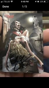 Spider-man Morbius Signed Card by Greg Land