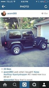 2003 jeep tj for trade