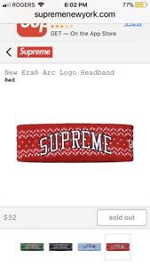 Supreme Christmas Headband