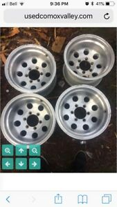 ISO 15x10 6 bolt Chevy wheels