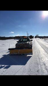 Duramax plow truck