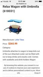 Little tikes deluxe ride and relax wagon