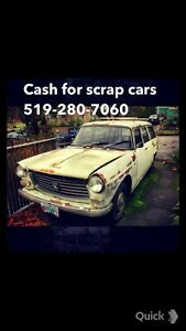 $$CASH FOR SCRAP CARS AND METAL$$