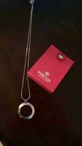 Freyja collection - silver chain and pendant