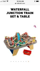 Huge Kidkraft and Thomas Train set and table