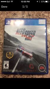 Needs for Speed PS4 game for only 20$
