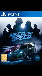 Need for speed and fallout 4 for PS4