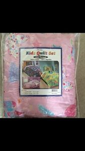 Brand new twin/ toddler bed princess comforter set cotton