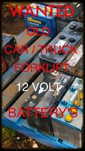 SCRAP BATTERIES WANTED LARGE AMOUNTS ONLY Botany Botany Bay Area Preview