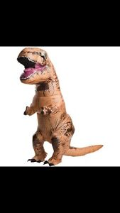 LOOKING FOR AN INFLATABLE DINOSAUR COSTUME