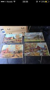 Antique 4 coffee tables