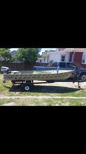 14' aluminum boat Windsor Region Ontario image 1