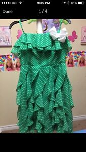 Beautiful girl dress size 10 like new great for this Easter