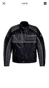 Genuine Harley Davidson leather jacket 3XL Northfield Port Adelaide Area Preview
