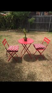 Outdoor table set w/ chairs and cushions Wavell Heights Brisbane North East Preview