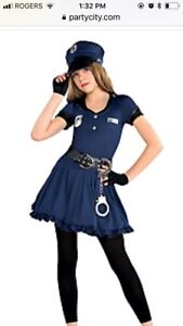 Cop Halloween outfit