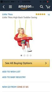 BRAND NEW outdoor baby swing