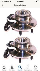 PREMIUM HUB AND BEARING (x2) front L,Front R