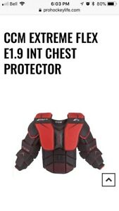 CCM EXTREME FLEX E1.9 INT CHEST PROTECTOR