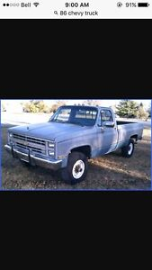 Square body chev